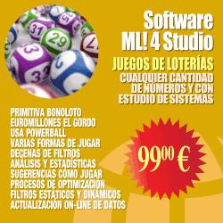 Software Magic.Loto! 4 Studio (Investigación de sistemas de loterías)