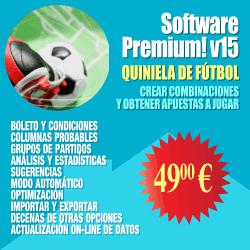Software de quiniela de fútbol (combinaciones)